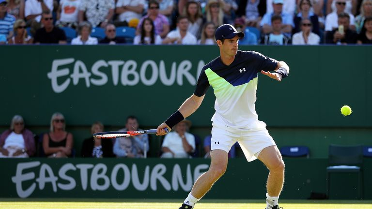 Andy Murray is yet to decide if he will compete at Wimbledon this year