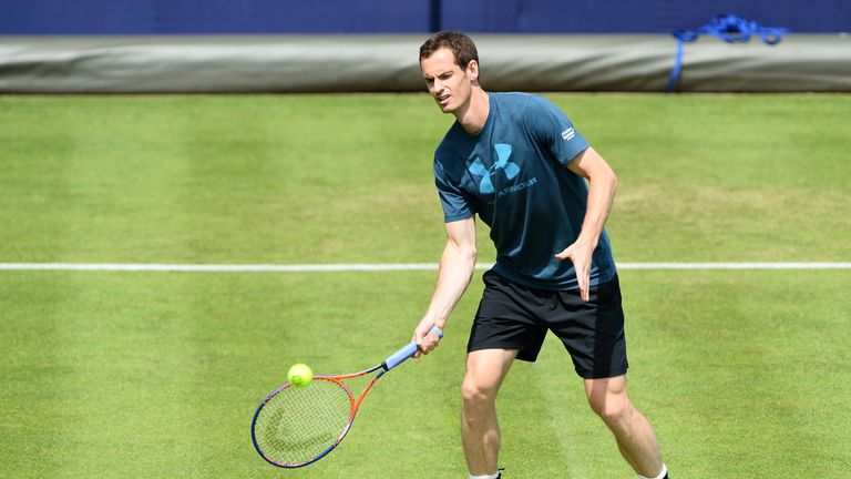 Andy Murray has dropped to No 157 in the world rankings