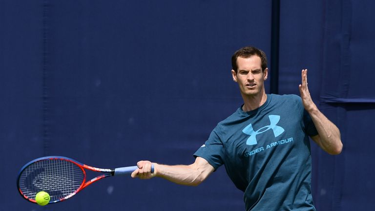 Andy Murray will play in Fever-Tree Championships at Queen's Club