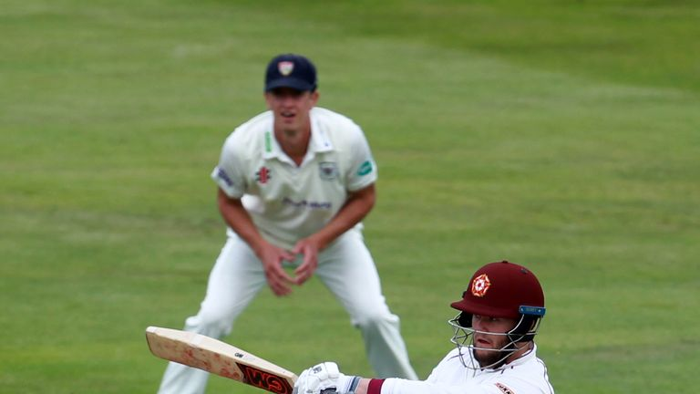 Ben Duckett hit an unbeaten 111 to give Northants the advantage in Cardiff
