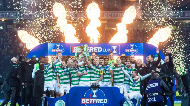 Holders Celtic enter the competition in the second round