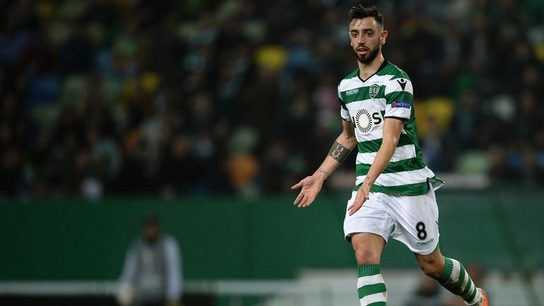 Bruno Fernandes joined Sporting Lisbon from Sampdoria in 2017
