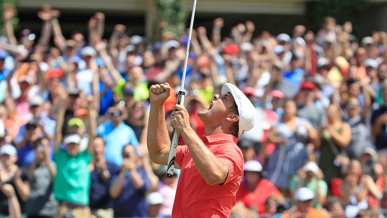 DeChambeau wins Memorial; Woods in share of 23rd