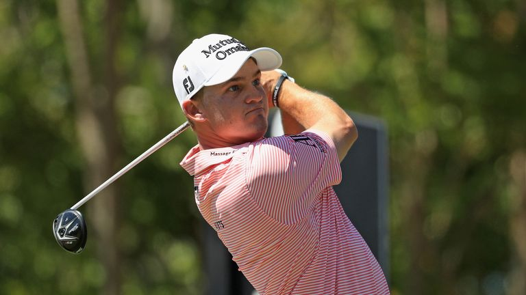 Golfer Cauley hurt in auto accident
