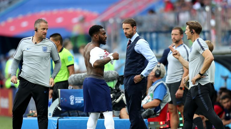 Injured Romelu Lukaku a doubt for England clash