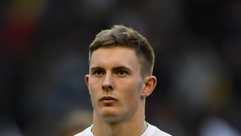 Manchester United and England U21 goalkeeper Dean Henderson is a Norwich target