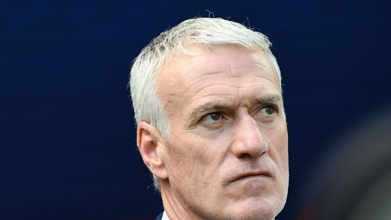 Didier Deschamps focused on the positives from his France side