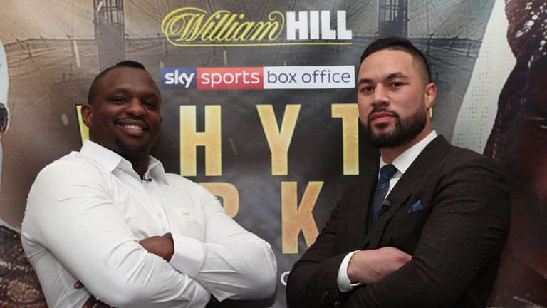 Dillian Whyte set for heavyweight clash with Joseph Parker in July