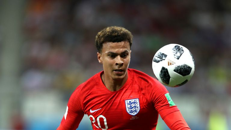 England midfielder Dele Alli has recovered from a thigh problem