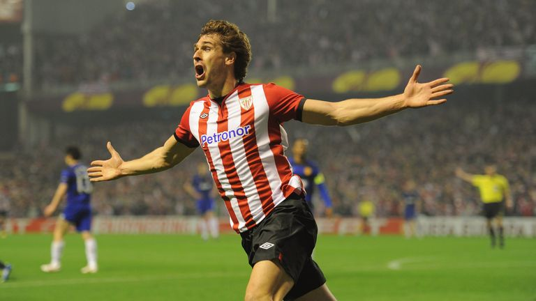 Fernando Llorente helped Athletic Bilbao to a Europa League and Copa del Rey final while playing under Biela