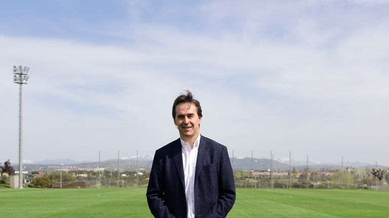 Julen Lopetegui has signed a three-year contract with Real Madrid