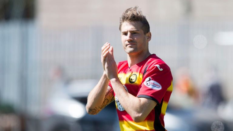 Frederic Frans had a two-year spell with Partick from 2014-2016