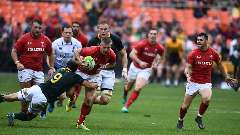 Wales began their summer series with a win over South Africa in Washington