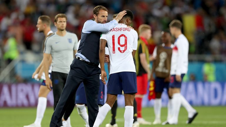 Gareth Southgate has relied on Marcus Rashford's impact