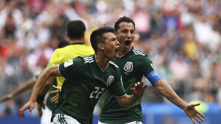 Mexico can make it to the last 16 with a win against South Korea