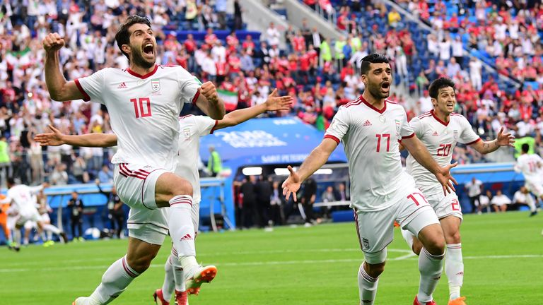 Iran beat Morocco 1-0 in their opening game