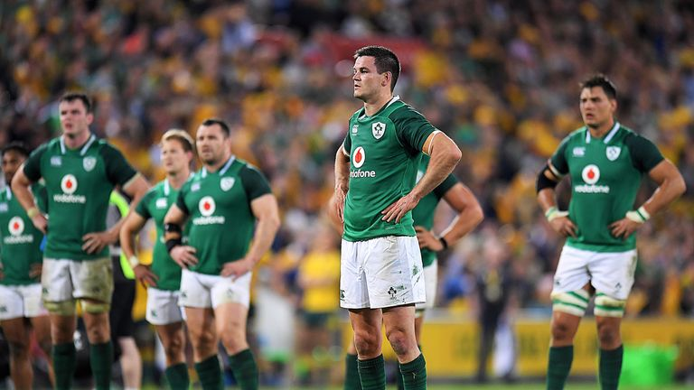 Australia 21-26 Ireland: Visitors bounce back to even up series