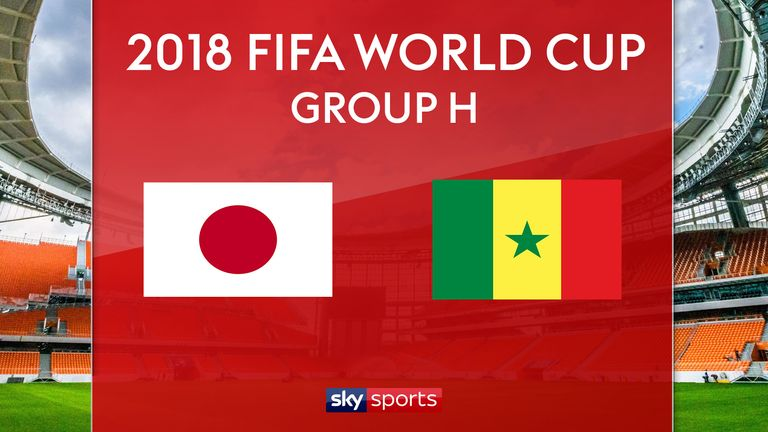 Japan, Senegal Battle to 2-2 Draw at 2018 World Cup