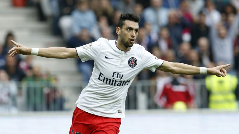 West Ham were interested in signing Javier Pastore before Roma completed their deal