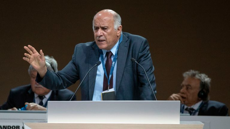 Jibril Rajoub faces FIFA punishment for urging fans to burn photos of Lionel Messi