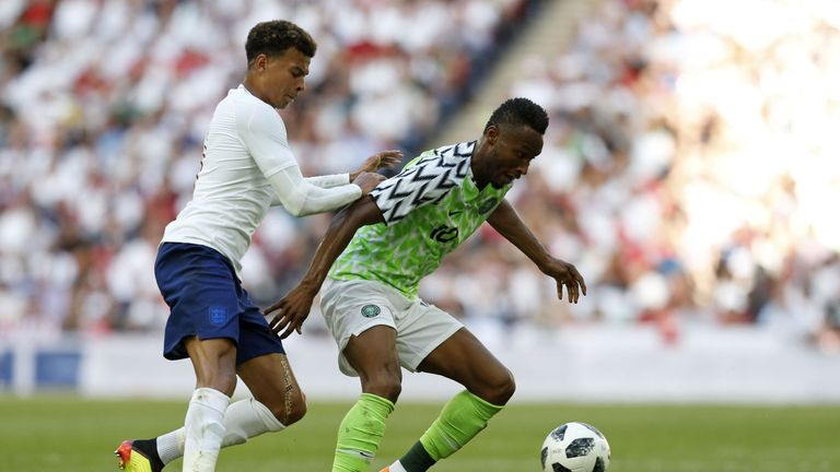 Mikel was impressed by England's youthful side during the defeat at Wembley