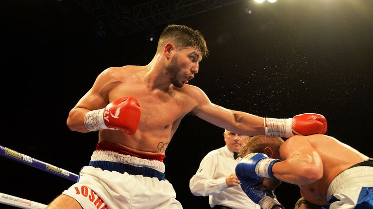 'Pretty Boy' pounded George to a halt in the seventh round