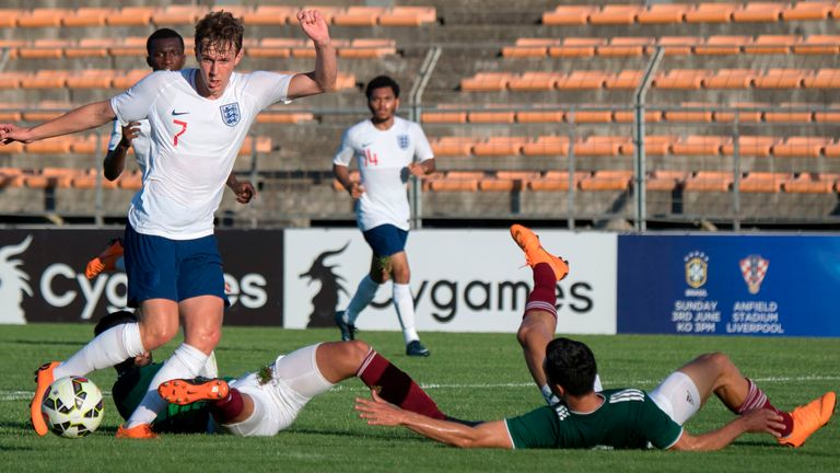 Mexico U21 vs. England U21 - Football Match Report