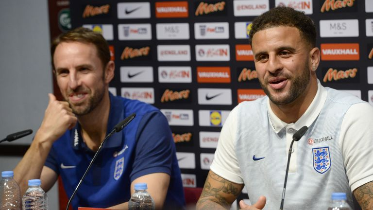Southgate has entrusted Walker with a new role to the one he plays for City