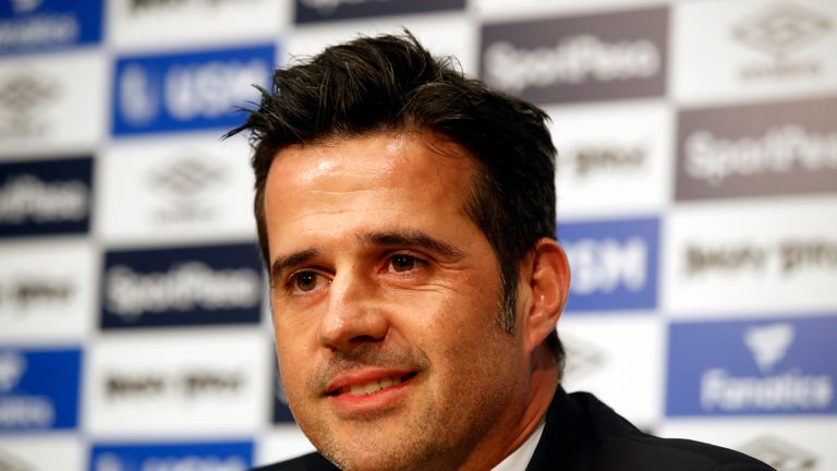 Marco Silva was appointed Everton manager two weeks ago