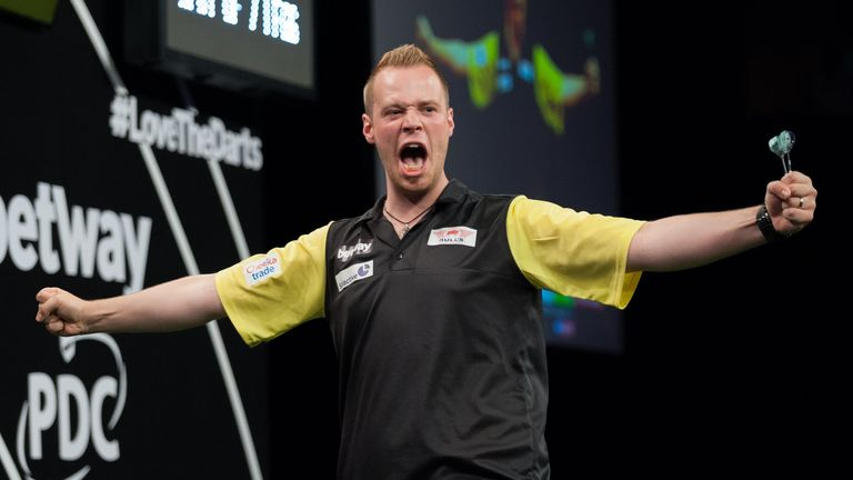 Max Hopp has thrilled the home crowd