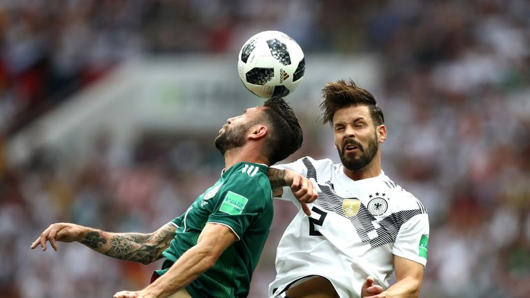 Marvin Plattenhardt (right) is also being looked at by Everton