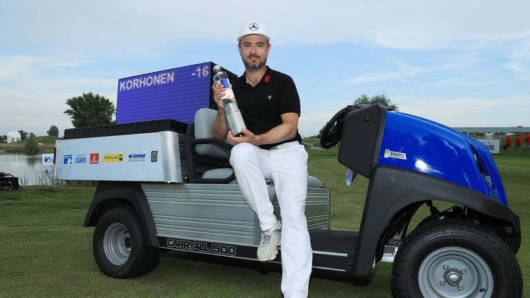 Korhonen eased to victory at the Diamond Country Club