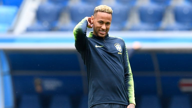 Neymar's fitness could be key to Brazil's chances at the World Cup