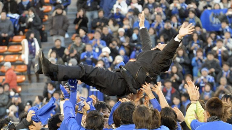Nishino was successful as a club manager in Japan
