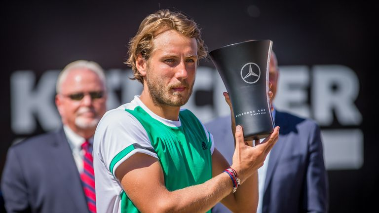 Lucas Pouille is the defending champion in Stuttgart