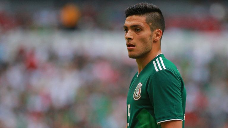 Raul Jimenez is in Mexico's World Cup squad