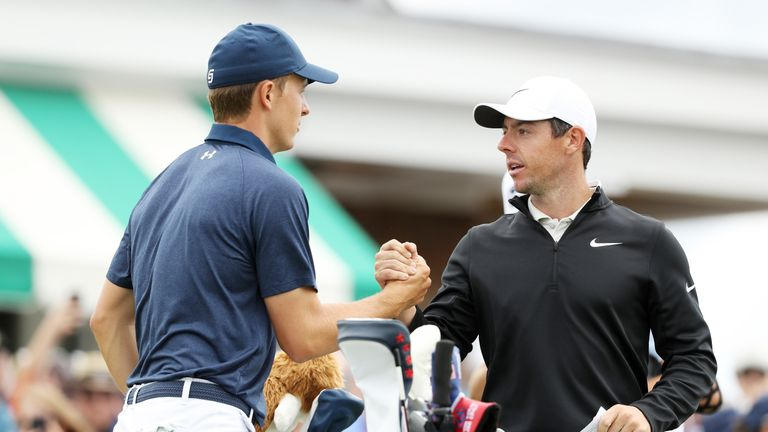 Rory McIlroy and Tommy Fleetwood climb up the leaderboard