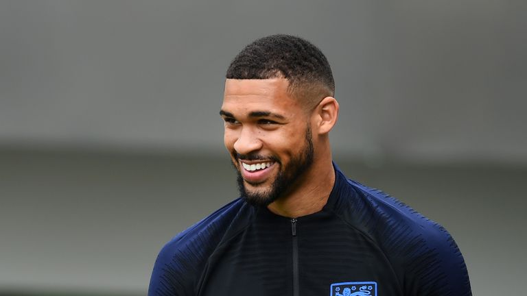 Ruben Loftus-Cheek made his competitive England debut against Tunisia