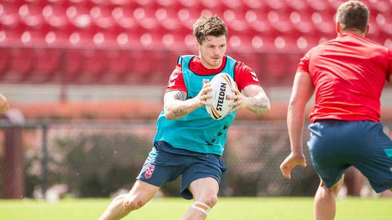 John Bateman continues at centre for England in Denver