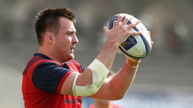 Niall Scannell starts at hooker for his eighth cap