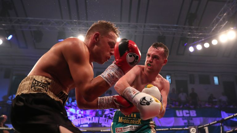 McGoldrick fights in Wales for the firs time in his pro career