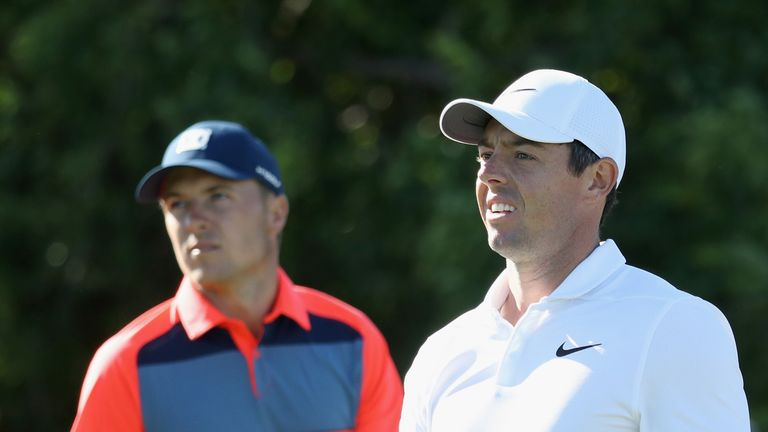 Jordan Spieth, Rory McIlroy and Phil Mickelson were a combined 25 over in the first round