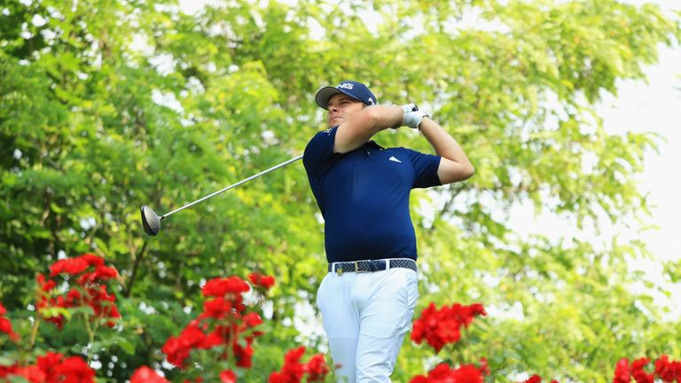 Tyrrell Hatton missed the cut by three shots
