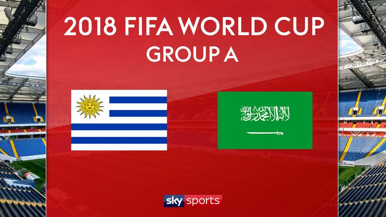 Uruguay vs Saudi Arabia | 20 Jun 2018