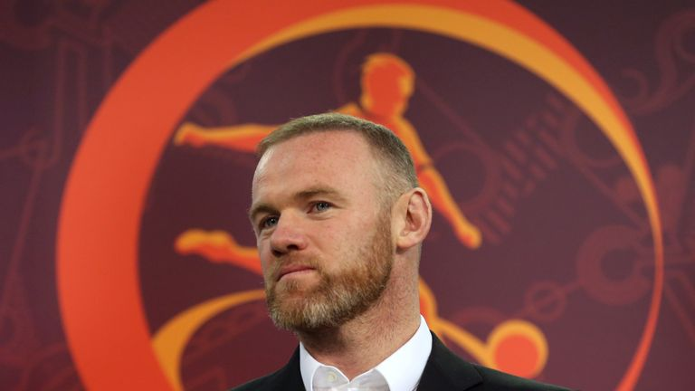 Wayne Rooney will meet the media in Washington on Monday
