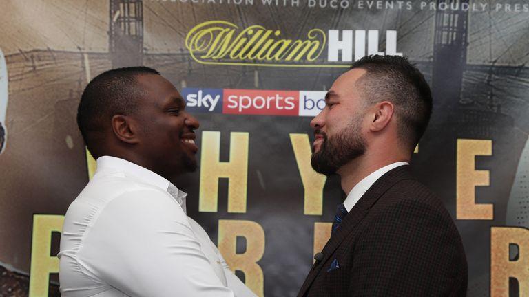 Dillian Whyte faces Joseph Parker on July 28, live on Sky Sports Box Office