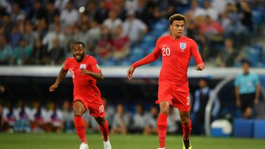 fifa live scores -                               Alli hopes quad injury not serious