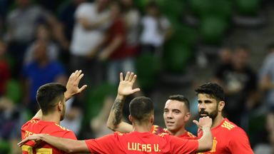 fifa live scores - International round-up: Spain edge stubborn Tunisia and France draw with USA