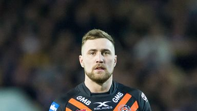 James Clare is back in the Castleford squad for the visit of Wigan