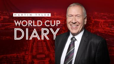 fifa live scores -                               Martin Tyler's World Cup diary